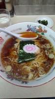 「ラーメン+半チャーハン 700円」@手もみラーメン 福すいの写真