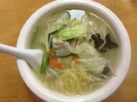 「野菜つゆ麺」@中華料理 味香亭の写真