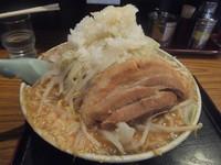 「ふじ麺味噌680円(クーポンで500円、油多め&味濃い目)」@優勝軒 柏店の写真