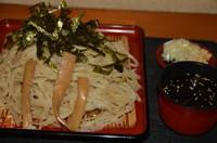 「ざる麺 580円」@畔鐘の写真