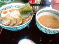 「鶏塩肉つけ麺 (980円)」@がじぼうの写真