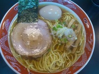 「味玉ラーメン ¥800」@ラーメン専門 くぼ田の写真