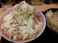 「ごろごろトマトふじ麺(中盛)+ゆで野菜」@景勝軒 太田店の写真