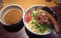 「【限定】 虎のしっぽカレーつけ麺:950円」@麺屋武蔵 虎洞の写真