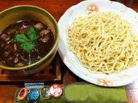 「牛スジつけ麺(並)」@麺舎 ヒゲイヌの写真