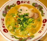 「こってりラーメン並」@天下一品 名古屋錦店の写真