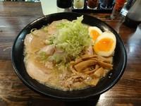 「醤油チャーシュー麵大盛 煮玉子 麺硬め ビール」@麺処 繋-Guの写真