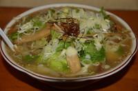 「青竹手打タンメン(野菜ラーメン) 650円」@畔鐘の写真