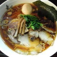「らーめん ¥650、味玉 ¥100」@らーめん 竜美の写真
