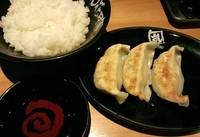 「餃子セット\260」@らあめん花月嵐 浅草雷門店の写真