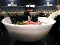 「赤星らーめん ~復刻リニューアル¥750」@阪神甲子園球場の写真