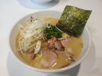 「豚骨醤油ラーメンネギトッピング¥680+150」@らーめん 竜美の写真