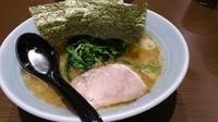 「ラーメン並680円」@横浜家系濃厚とんこつラーメン 竹取家の写真