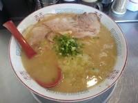 「ゆず胡椒おろしラーメン (こってり) 大盛り早割無料」@らー麺 どんの写真
