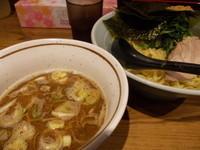 「魚介つけ麺(並・あつもり)」@横浜家系濃厚とんこつラーメン 竹取家の写真