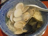 「蛤麺800円」@めんけんの写真