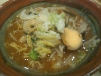 「信州赤味噌野菜ラーメン」@麺屋頑固の写真