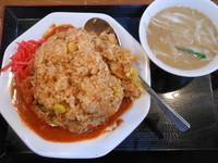 「チンピラチャーハン」@味噌麺処 花道の写真