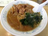 「肉みそラーメン 700円」@札幌ラーメン まりもの写真