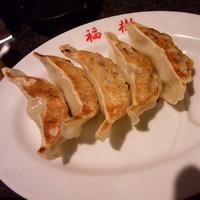 「餃子 ¥280」@大らーめん 福籠の写真