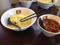 「辛つけ麺ニンニク 800円」@らーめん Nageyariの写真