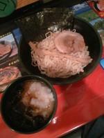 「もぐらつけ麺800円」@世界の龍ちゃんよしき坊の写真