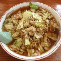 「スープ入り焼きそば」@こばや食堂の写真
