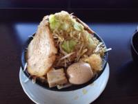「野菜らーめん 大盛り+味玉+チャーシュー」@麺屋 一心の写真