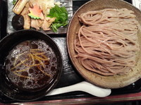 「かしわ南蛮つけめん(大盛・600g・冷もり)930円」@三ツ矢堂製麺 深谷花園店の写真