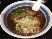 「坦々麺」@中国手打拉麺 馬賊 日暮里店の写真