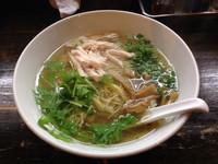 「鷄そば」@好麺の写真
