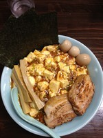 「マーボー麺 ぜんぶ乗せ」@麺屋 滝昇の写真