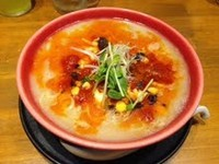 「トマト豚骨ラーメン」@まんかい 福島本家の写真