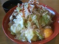 「まぜ麺 大盛」@麺 GAKUの写真