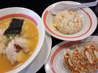 「味噌らーめんミックスランチ735円」@幸楽苑 三郷中央店の写真