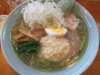 「塩こうじらーめん700円」@手打ちラーメン ふくべの写真