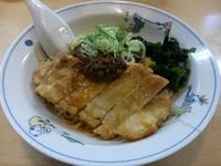 「【期間限定】汁なし肉揚げタンタンメン(大盛り)」@テンホウ 穂高店の写真