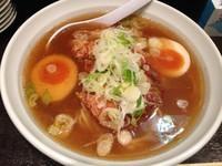 「地鶏ラーメン (850円)」@尼龍の写真