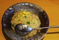 「ミニチャーハン」@越後秘蔵麺 無尽蔵 ふじみ野家の写真