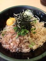 「油蕎麦400円+大盛(クーポン利用)」@ゆで太郎 銀座5丁目店の写真