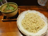 「牛スジカレーつけ麺(並)」@麺舎 ヒゲイヌの写真