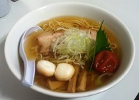 「うるめ煮干し塩らぁ麺梅添え」@麺や 来味 京急百貨店「大新潟展」の写真
