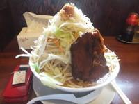 「味噌ラーメン680円(クーポンで500円)ニンニク・ヤサイ」@喝力屋の写真
