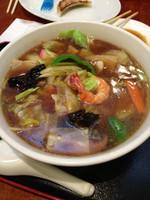「広東麺」@らーめんハウス味好 宮原店の写真