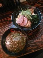 「つけ麺800円」@Y's Dining Barの写真