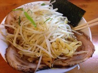 「醤油チャーシュー麺(太麺) ¥880」@麺の蔵の写真