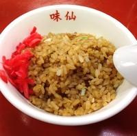 「ミニ・ニンニクチャーハン(¥420)」@中国南北酒菜 味仙 矢場店の写真