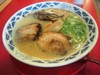 「亀王ラーメン(昔味)」@九州らーめん 亀王 西中島店の写真