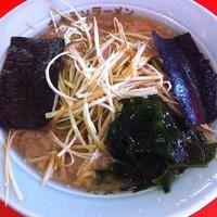 「ネギラーメン(麺固め 脂多め)650円」@ラーメンショップ 深谷店の写真