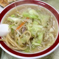 「タンメン(太麺) ¥600」@来来来の写真
